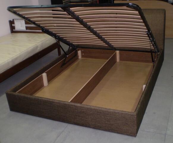Двуспальная кровать с подъемным механизмом своими руками фото
