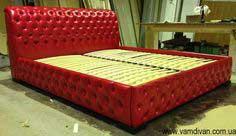 красная кровать Честер