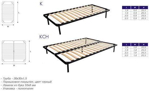 Каркас для ортопедической кровати своими руками