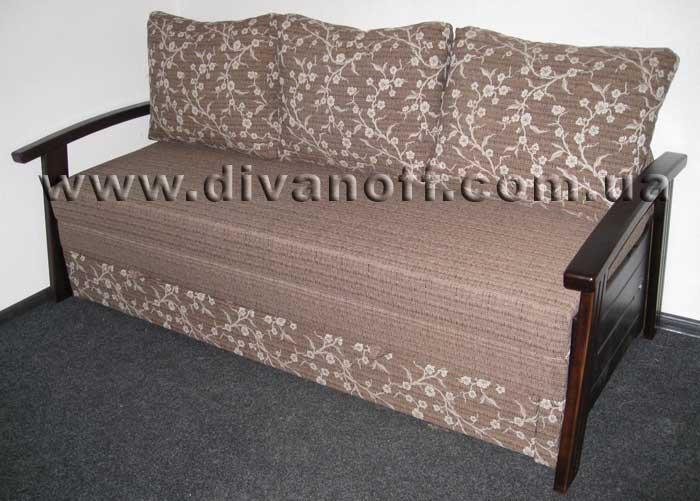 диван Милан, в ткани сакура