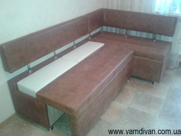Спальные угловые диваны на кухню Москва
