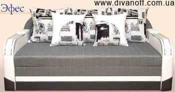 Диван Эфес, ровные подлокотники