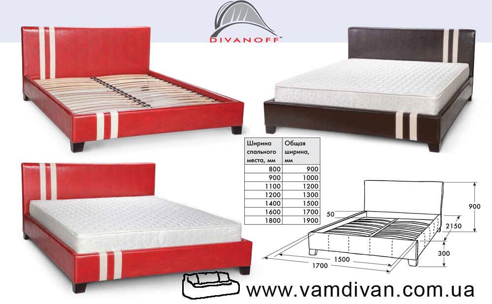 Высота кровати с подъемным механизмом